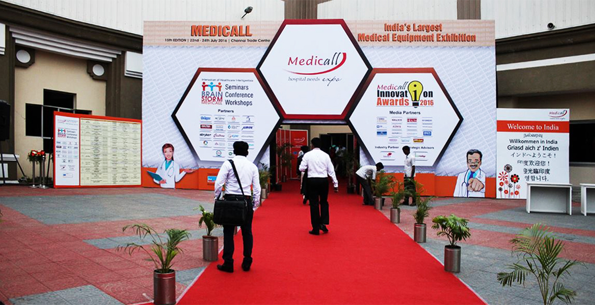 Medicall Expo Showcases Its 23rd Edition India's Largest B2B Medical Equipment Trade Fair  0n26th, 27th, 28th July 2019 at the Chennai Trade Centre