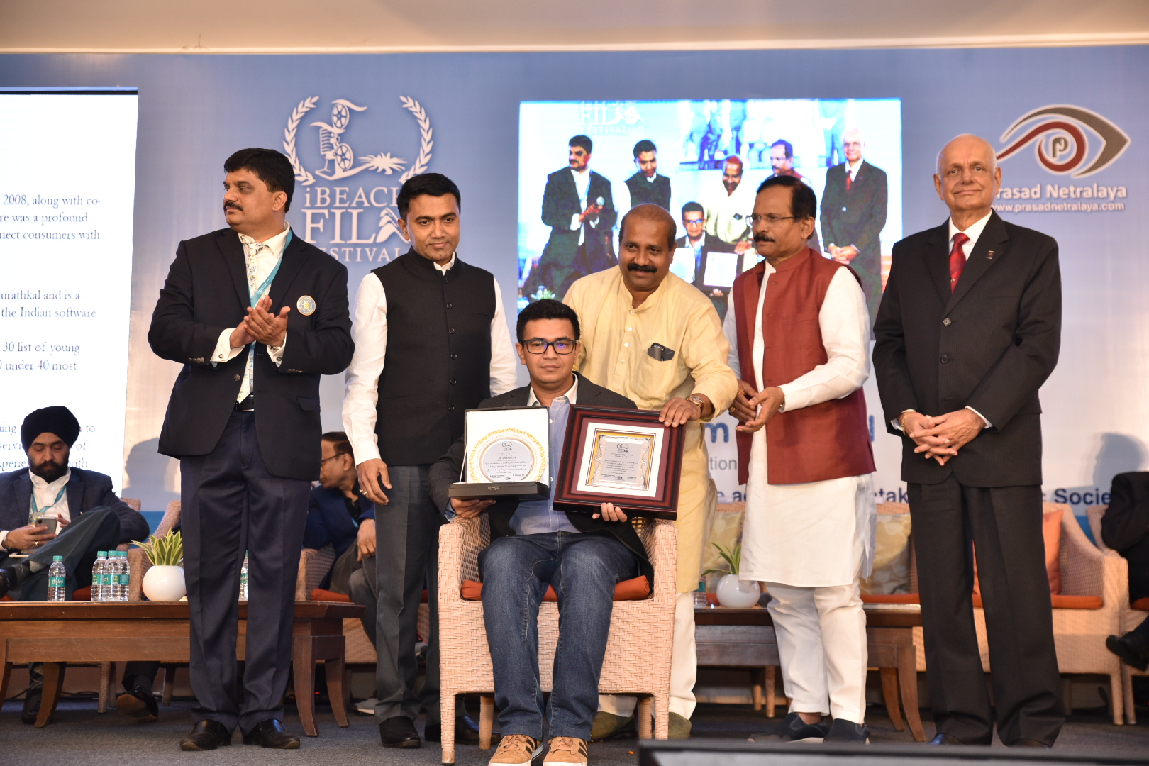 Karnataka Ophthalmic Society honours Practo for its exemplary contribution in digital healthcare at iBeach Festival 2019