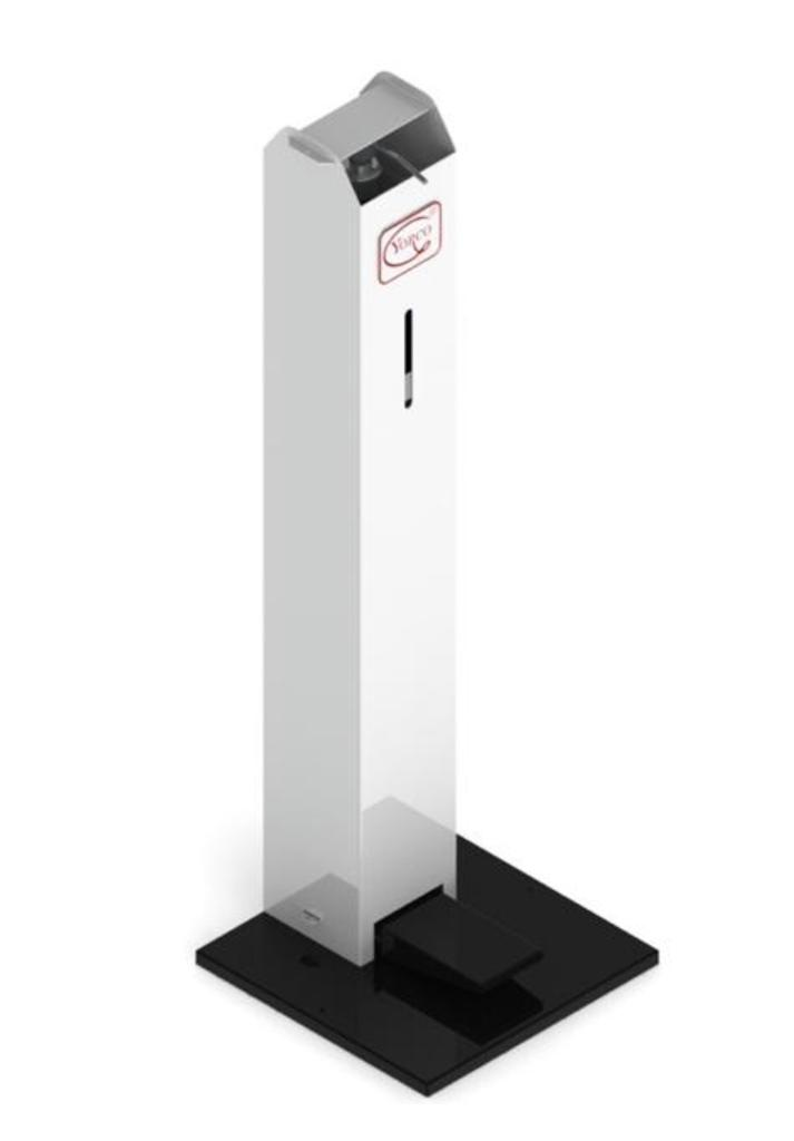Pedal Activated Sanitizer Dispenser by York Scientific Industries