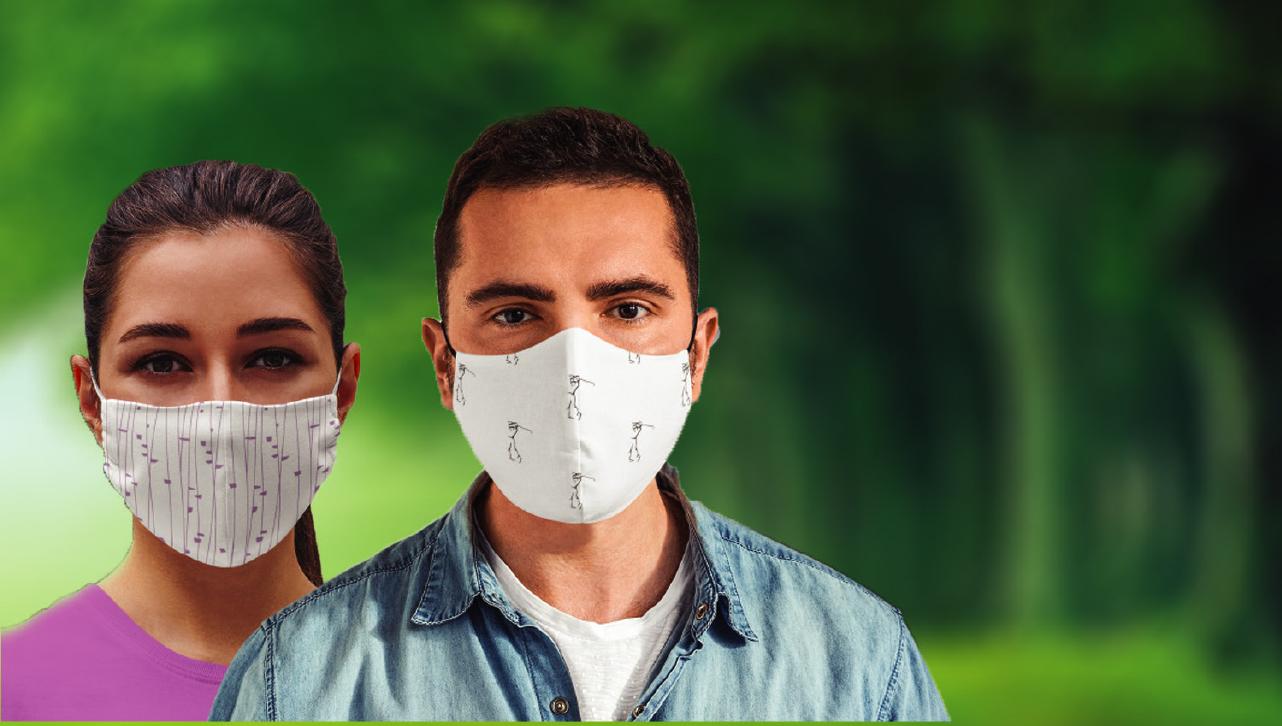 SilverPro – Self Sanitizing Face Masks