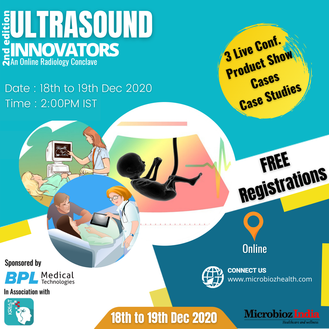 Ultrasound Innovators : 2nd edition of online Radiology Conclave