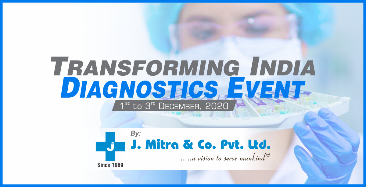 Transforming India Diagnostics event to be Held from 1st to 3rd Dec 2020