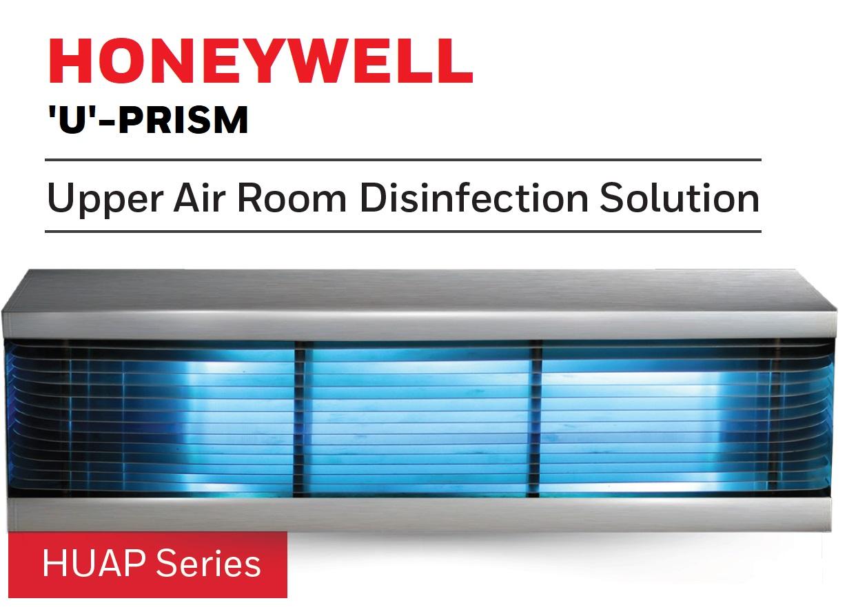 Honeywell U-prism solution helps create cleaner air in Healthcare facilities