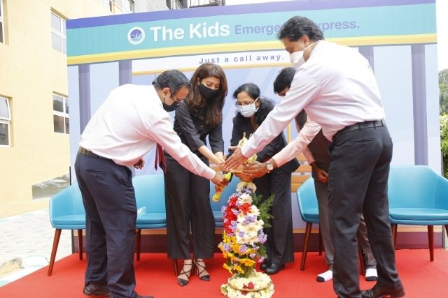 Aster RV Hospital Launches 'Aster Kids Emergency Express' to provide timely and effective treatment